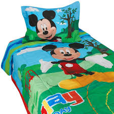 mickey mouse clubhouse toddler bedding disney kids room decor