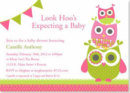 how to make owl baby shower invitations all invitations ideas
