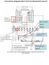 wiring diagram heil furnace thermostat wiring diagram tempstar