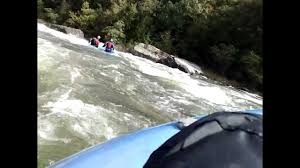 class v pfd rafting gauley swimmer at insignificant rapid class v