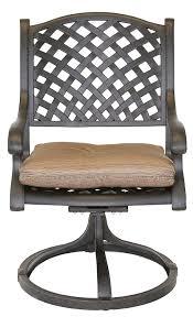 Best Cast Aluminum Patio Furniture - amazon com heritage outdoor living nassau cast aluminum 9pc