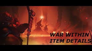 warframe war within all item details youtube