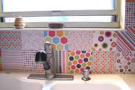 Kitchen Stencil Ideas 13 Removable Kitchen Backsplash Ideas