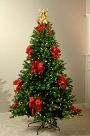 decorate christmas tree with ribbon home decorations