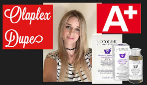 less damaging hair colors olaplex dupe from sally s beauty less damage for bleaching or