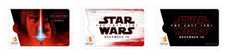 wars the last jedi gift cards yodasnews wars