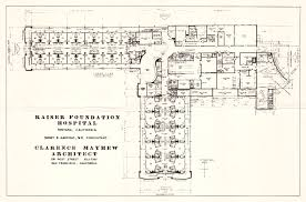 Clarence House Floor Plan Hospital Of The Future A History Of Total Health Kaiser