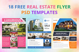 real estate brochure templates psd free 17 free real estate flyer psd templates designyep