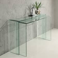 Entry Way Tables by Styles Unique Material Of Acrylic Console Table For Interior