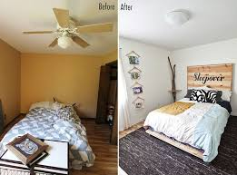 bedroom before and after emma s guest bedroom before after a beautiful mess