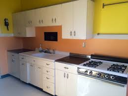 Vintage 1950 S Metal Kitchen Cabinet Enamel Top Ebay by Beautiful 1950s Kitchen Cabinets Taste