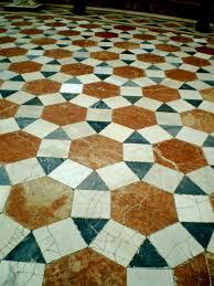Border Floor Tiles Decoration Ideas Elegant Cream Octagon Tile Flooring With Black