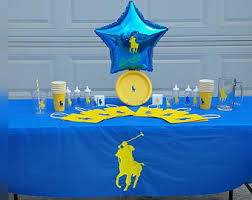 polo baby shower decorations polo party favors etsy
