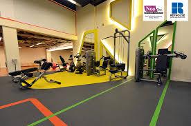 neoflex 800 series rubber fitness flooring digi