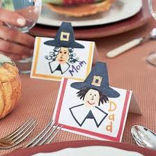 can make thanksgiving place cards a u t u m n