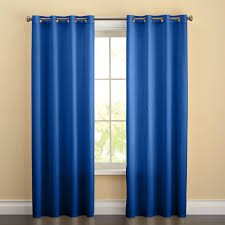 brylanehome studio cotton canvas solid grommet panel curtains