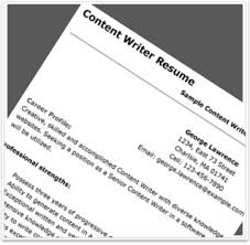 Resume Content Sample by Essential Tips To Evaluate A Content Writer U0027s Resume