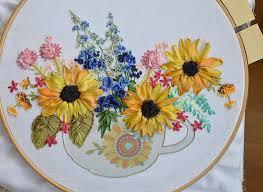 silk ribbon embroidery beginner39s guide to silk ribbon embroidery makaroka