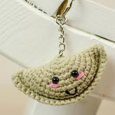 fortune cookie keychain crochet fortune cookie fortune cookie keychain crochet keychain