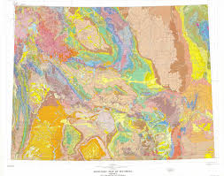 map of wyoming geologic map of wyoming department of geology and geophysics