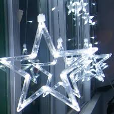 Decorative Garlands Home 110v 240v Led Star Lights Home Outdoor Holiday Christmas
