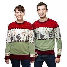 wars bb 8 sleigh bells sweater thinkgeek