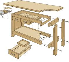 Woodworking Bench Plans by Simple Workbench Plans Simple Workbench Plans Garage Workbench