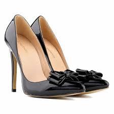 amazon com loslandifen womens closed toe cusp high heels patent