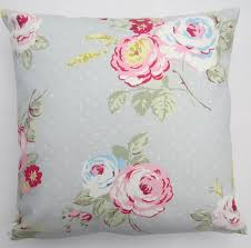Shabby Chic Cushions by Decorative Pillow Cover Shabby Chic Cushion Cover Grey U0026 Pink