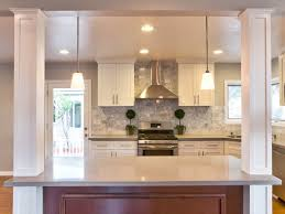 kitchen islands with columns contemporary kitchen with hardwood floors columns dynasty