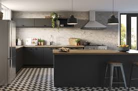 modern farmhouse kaboodle kitchen