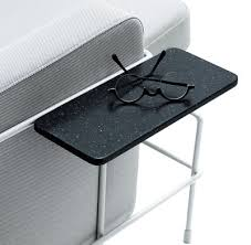 table pour canapé tablette accoudoir pour assises traffic gris anthracite