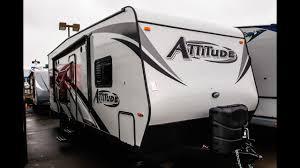 attitude toy hauler floor plans 2018 eclipse attitude 23 sa toy hauler travel trailer video tour