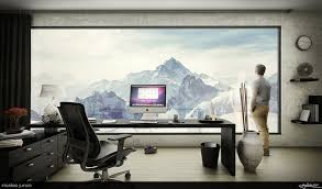 Personal Office Design Ideas Amazing Personal Office Design With Great Sofa Set And Lighting
