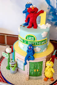 sesame birthday kara s party ideas sesame 1st birthday party