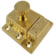 brass cabinet or cupboard latch