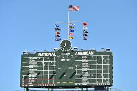 6 Flags San Francisco Chicago Cubs New Flags Will Wave Around Wrigley Field Scoreboard