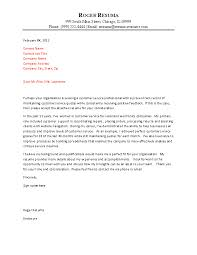 Sample Resume For Customer Service Job by It Professional Cover Letter