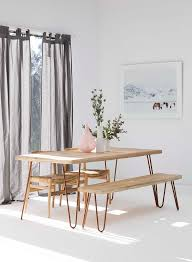 Tables With Bench Seating Best 25 Table With Bench Ideas On Pinterest Kitchen Table With