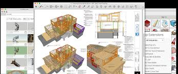 Woodworking Design Software Freeware by Archetectural Design Software Skp File Sketchup