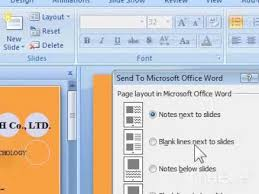design von powerpoint in word how to create powerpoint handouts in microsoft word youtube
