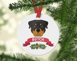rottweiler ornament do ornament rottweiler gift