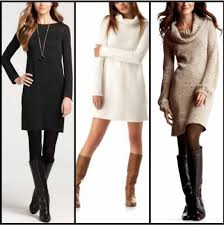 15 best dresses with boots images on pinterest winter style
