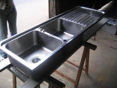 gastro küche gebraucht spülbecken waschbecken komplett aus edelstahl große becken