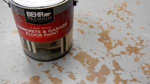 behr concrete and garage floor paint problems with 010 mov
