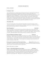 Resume Job Description Examples by Big Data Sample Resume Resume For Your Job Application