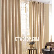 Contemporary Blackout Curtains Beige Living Room Heavy Simple Blackout Fabric Contemporary