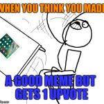 Table Throw Meme - table flip guy meme generator imgflip
