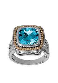 topaz rings prices images Blue topaz ring belk