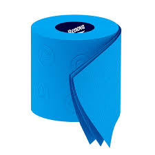 renova blue toilet paper funky toilet roll from red candy